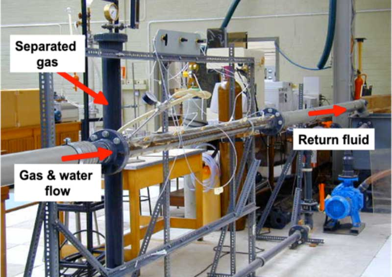 Downhole Gas-Fluid Separation System testing